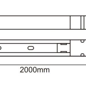 MONOFAZNA ŠINA 2M UL002