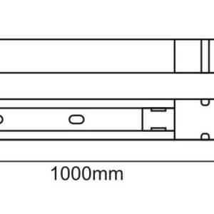 MONOFAZNA ŠINA 1M UL001