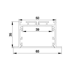 LED PROFIL UGRADNI ALP045-R