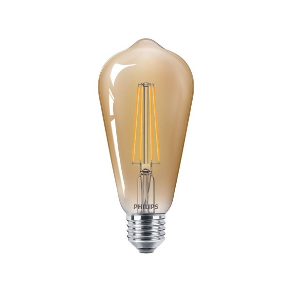 CLA LEDBulb D 8-50W ST64 E27 822 GOLD