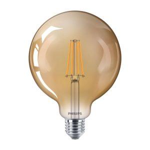 CLA LEDGlobe D 8-50W G120 E27 822 GOLD