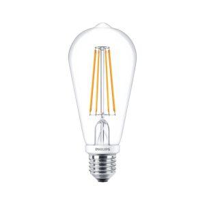 CLA LEDBulb D 7-60W ST64 E27 827 CL