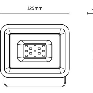 iPad SMD LED REFLEKTOR 10W 6500K