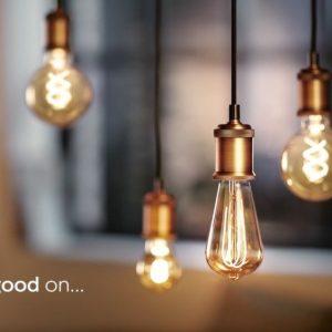 PHILIPS Classic LEDglobe Vintage E27 G93 5W 820 Gold