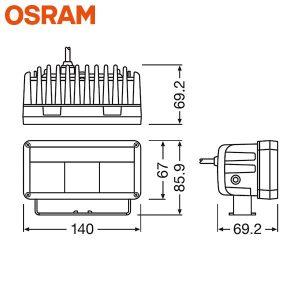 OSRAM MX140 LEDDL102-WD