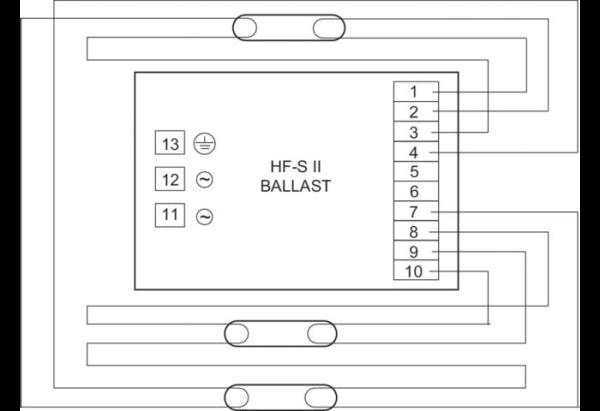 HF-S 3/414 TL5 II 220-240V 50/60Hz