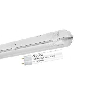 LIMEA 236 IP65+LED CEVI OSRAM ST8A-EM 14W/840