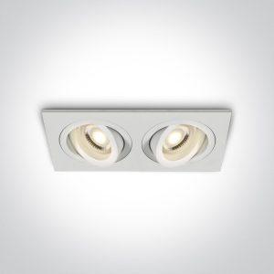 Rozetna dupla 51205ABG/W ONE LIGHT