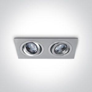 Rozetna dupla 51205ABG/AL ONE LIGHT